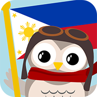 Gus on the Go: Filipino (Tagalog) for kids, iOS & Android language app