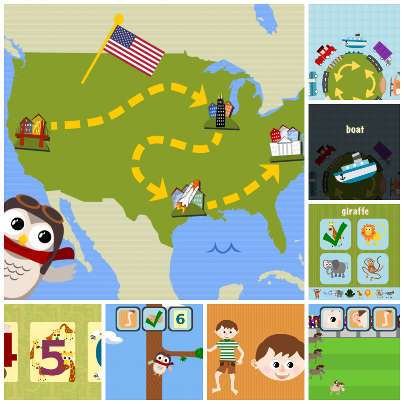 Gus on the Go: English, iOS and Android language app for kids