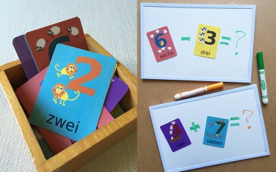 4 Ways to Use Number Flashcards