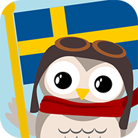 Gus on the Go: Swedish for kids, iOS & Android language app