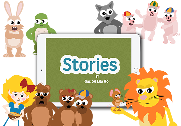 Learn Spanish with Stories by Gus on the Go, an iOS Spanish language app